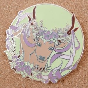 May Day Stag Enamel Pin